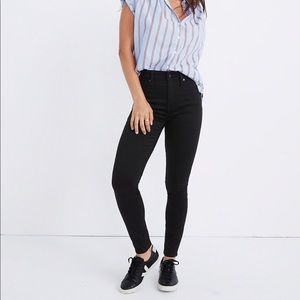 Madewell petite curvy jeans in Carbondale wash